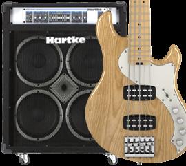 Basses styles Fender